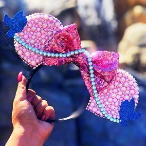Cinderella Pink Dress Mickey Ears